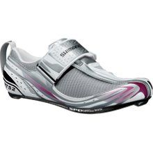 """Shimano Sh-Wt52 Womens Road Bike Shoe White/Pink    Okay... so maybe I will give in to the """"looking like a girl"""" while cycling bit.."""