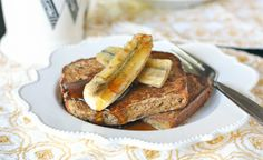 » French Toast with Grilled Bananas Against All Grain – Award Winning Gluten Free Paleo Recipes to Eat Well & Feel Great