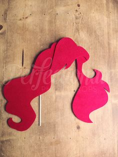 Princess Hair Photo Prop Fairy Tale Photo Booth by Perfectionate