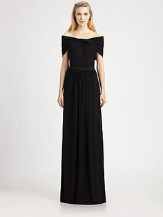 I love off the shoulder dresses and this one is so tasteful.