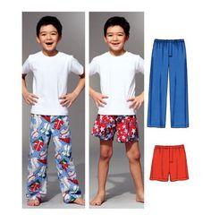 Sewing Pattern - Boys Pattern, Sleep Pants Pattern, Sleep Shorts Pattern, Kwik Sew #K3786 on Etsy, $12.01 AUD