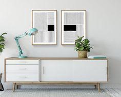 Minimalisme Noir - White Lines / Impression minimaliste / Digital Wall Art Abstract Geometrical Print / Modern Living Room Poster / Original Art Il s'agit d'un achat DE TÉLÉCHARGEMENT INSTANTANÉ. Vous ne recevrez pas d'IMPRESSION PHYSIQUE par la poste. Un original Abstract Black - White Lines Wall Modern Minimalist Bedroom, Minimalist Art, Orange Wall Art, Black And White Lines, Digital Wall, Room Posters, Art Mural, Bedroom Art, Abstract Wall Art