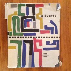 Olivetti book cover, 1908-1958