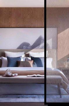 Best Luxury Sleeping Room Ideas For Modern Home Interior - TopDesignIdeas Modern Bedroom Design, Master Bedroom Design, Contemporary Bedroom, Bed Design, Bedroom Designs, Trendy Bedroom, Bedroom Sets, Home Bedroom, Bedroom Furniture