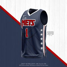 Concept jersey Nike NBA x Denver Nuggets on Behance Basketball Uniforms, Basketball Jersey, Basketball Players, Brooklyn Image, Brooklyn Nets, Brooklyn Basketball, Nba League, Denver Nuggets, Uniform Design