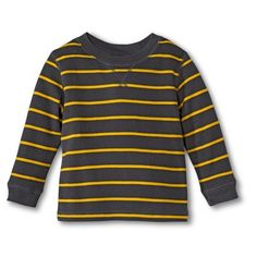 Infant Toddler Boys' Long-Sleeve Striped Tee