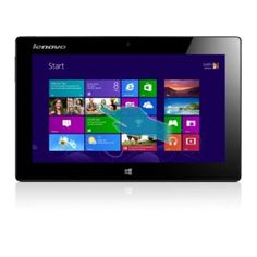"""Lenovo IdeaPad Miix. Everything you need for work and play, the affordable Lenovo Miix is a 10.1"""" Windows 8 tablet with an Intel PC processor inside. Use as"""