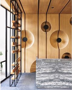 Biomimicry, the practice of emulating nature's strategies, has become big news in design. Principals Fan Chih-Sheng and Wu Chin-Feng are longtime proponents. Cai-In Interior Design Co.: 2015 BoY Winner for Apartment Lobby