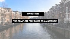 Anyone visiting Amsterdam soon? I have something for you… Did you know I have a second blog, called Amsterdam Curated? I actually had it waaay before this one, and it's about Amsterdam and all its hotspots! Its a free guide to Amsterdam!