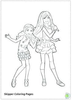 Skipper Barbie Coloring Pages - Barbie Skipper Stacie And Chelsea Coloring Pages Electric Fireplace, Gas Fireplace, Barbie Drawing, Barbie Coloring Pages, Barbie Skipper, Barbie World, Chelsea, Drawings, Pictures
