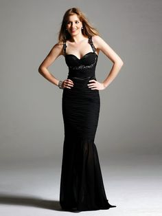 Lindos Vestidos de color negro | Marca tus Momentos