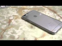 PowerSupport AirJacket Clear Case - iPhone 6 / 6 Plus - Quick Review! - YouTube