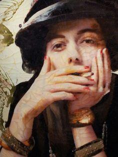 Coco Chanel Lita Cabellut