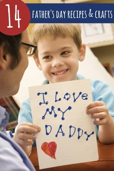 Father's Day Recipes and Crafts