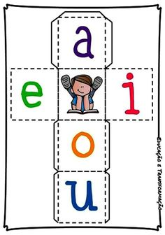 Preschool Learning Activities, Teaching Kids, Vocabulary Graphic Organizer, Numbers Preschool, Phonics Worksheets, Cvc Words, Math For Kids, Word Families, Kids Education