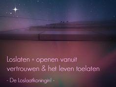 Ook jij bent een Loslaatkoningin!   www.annechienlubbers.nl/diensten/loslaatkoningin/