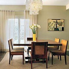 Apartamentos decorados sala de jantar