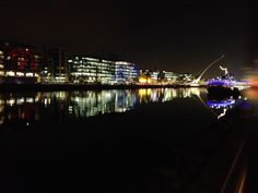 River Liffy by night