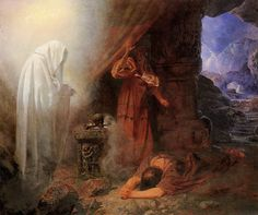 Edward Henry Сorbould Saul And The Witch Of Endor 1860