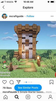 Cute Minecraft Houses, Minecraft Mansion, Mine Minecraft, Minecraft Funny, Minecraft Plans, Amazing Minecraft, Minecraft Houses Blueprints, Minecraft House Designs, Minecraft Art