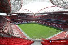 Estádio da Luz, wonderfull Benfica stadium.