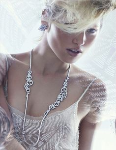 Hana J | Eric Traore | Tatler Russia April2012 - 3 Sensual Fashion Editorials | Art Exhibits - Anne of Carversville Women's News