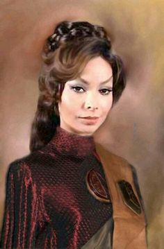 Arlene Martel as T'Pring << OOOOH