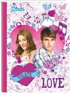 Cuaderno Violetta 1