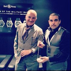 Haute Time Presents Carlos Rosillo, CEO of Bell & Ross At Basel World