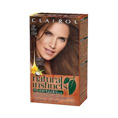 Clairol Natural Instincts Non-Permanent Hair Color 6BZ Navajo Bronze... ($6.99) ❤ liked on Polyvore featuring beauty products, haircare and hair color