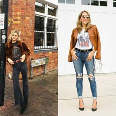 Today's Everyday Fashion: Graphic Tee, 3 Ways