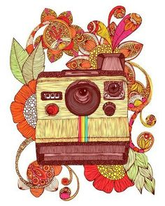 Inspiração do Dia: Polaroid - BLCKDMNDS