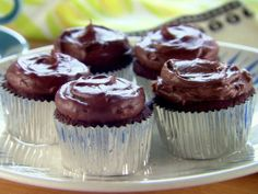 cupcakes Chocolate Pudding Recipie | Chocolate Pudding Frosted Cupcakes Recipe : Trisha Yearwood : Recipes ...