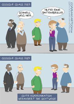 #58 - Gute Kommunikation verändert die Sichtweise. Mehr unter: www.wildcard-blog.de oder www.communicartoon.de