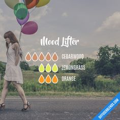 Mood Lifter - Essential Oil Diffuser Blend || Buy dōTERRA essential oils online at www.mydoterra.com/suzysholar, or contact me suzy.sholar@gmail.com for more info.