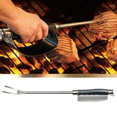 Heat Shield with Fork #grilling #gifts #bbq #dads #holiday