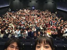 広瀬すず @Suzu_Mg  3月25日 Tジョイ博多in福岡 今回は監督も!! ありがとうございました!!