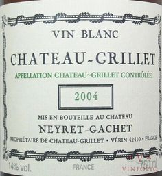Chateau Grillet - by Neyret-Gachet