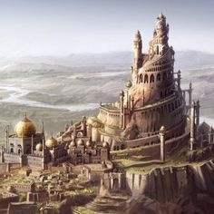 Concept art for Prince of Persia, Sands of time