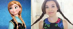 Do You Wanna Build an Updo? 5 Cool Hairstyles Inspired by Frozen for the kids