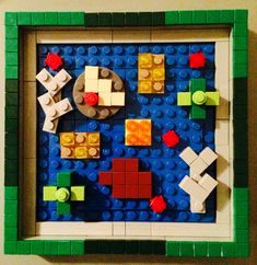 Lego Plant Cell Model