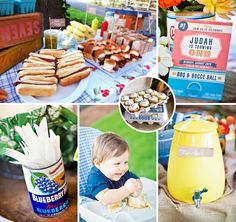 Full of afforable DIY projects and thrifted pieces, this is one of those parties that would be SO FUN to recreate… Farmer's Market Inspired Backyard BBQ {First Birthday} by Kiira Turnbow of Eye Heart Pretty Things! #BBQ #FirstBirthday http://hwtm.me/14BMOlb