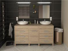 ma maison mes tendances meuble de salle de bain hero double vasque meuble bas salle de bain rue du commerce