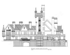Balmoral House Plan -  - Archival Designs