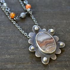 wildflower necklace sterling silver and by wildflower designs, $145.00