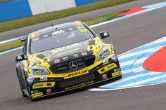 Adam Morgan (GBR) Ciceley Racing Mercedes A-Class