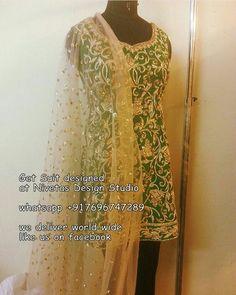 Punjabi salwar suit #Patiala Salwar Suit #wedding_indian_suit #Suits #patiala…