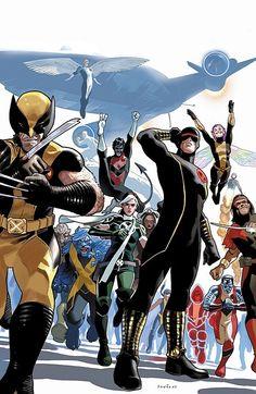 The X-Men by Daniel Acuña