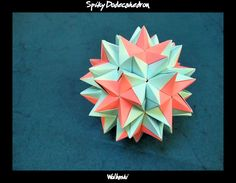 Spiky Dodecahedron II by wolbashi.deviantart.com