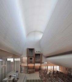 Bagsværd Church / Jørn Utzon (7) #NuevaArquitecturadelCampodeGibraltar